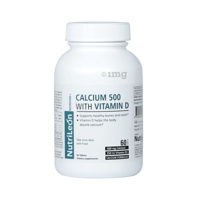 Nutrileon Calcium 500 with Vitamin D Tablet