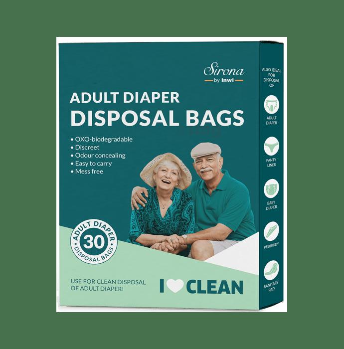 Sirona Premium Adult Diaper Disposal Bags