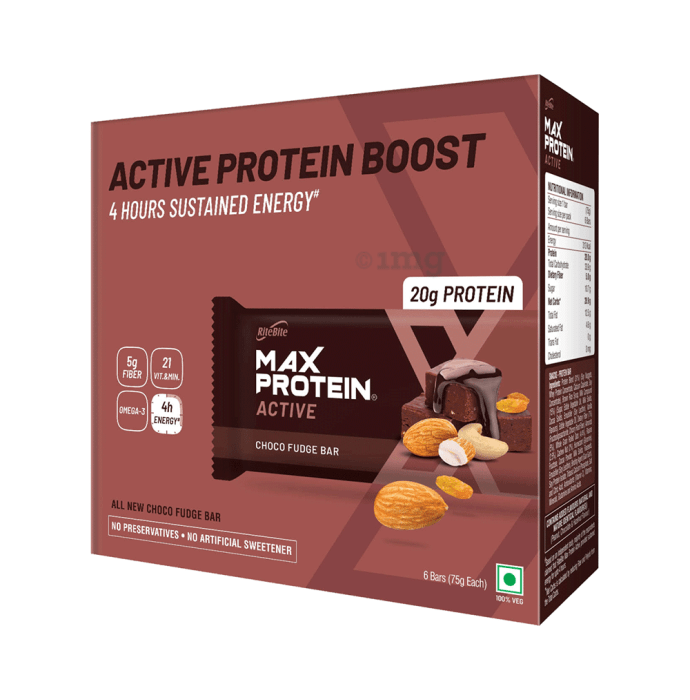 RiteBite Max Protein Active Bar Choco Fudge