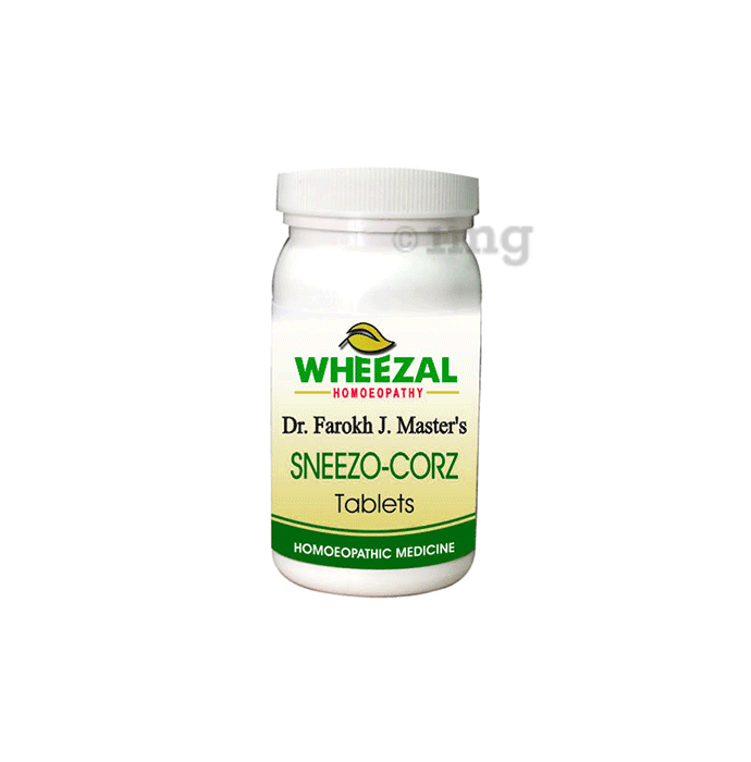 Wheezal Sneezo - Corz Tablet