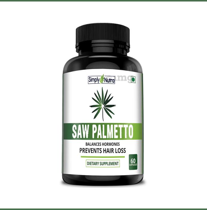 Simply Nutra Saw Palmetto Veg Capsule