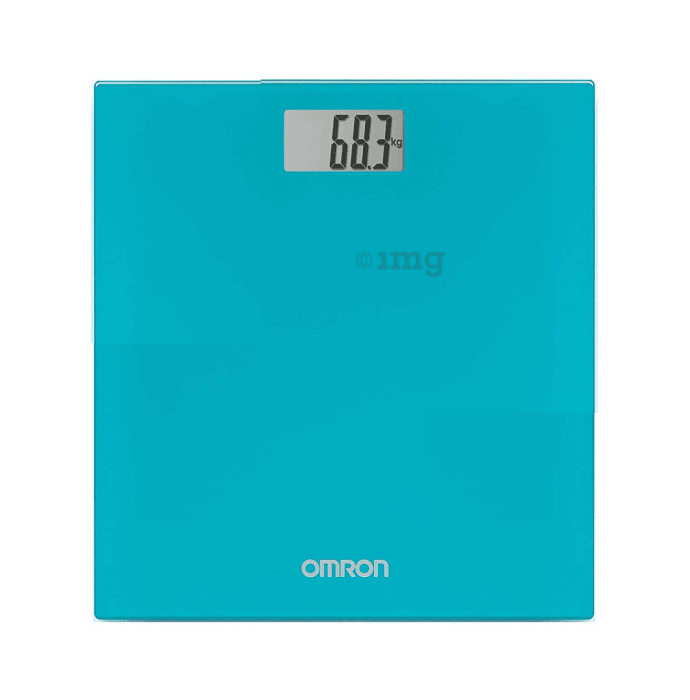 Omron HN-289 EB Weighing Scale Blue