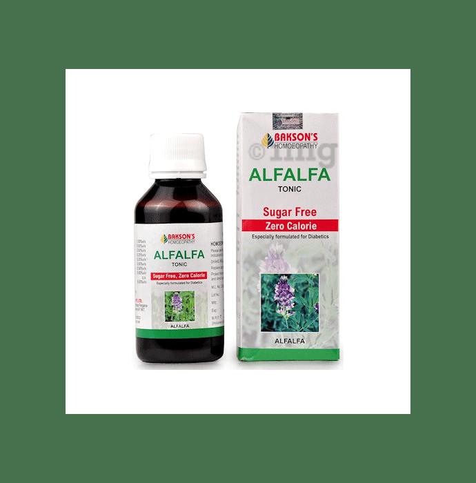 Bakson's Alfalfa Tonic Sugar Free