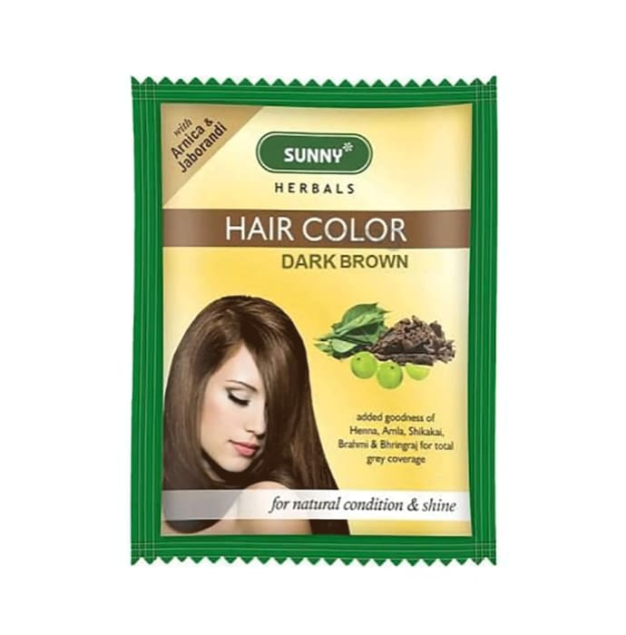 Bakson's Hair Color 12 Sachets Dark Brown