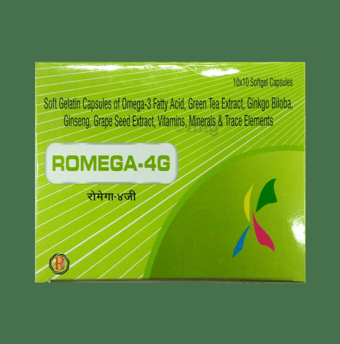 Romega-4G Softgel Capsule