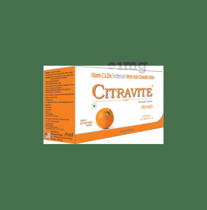 Citravite XT Chewable Tablet