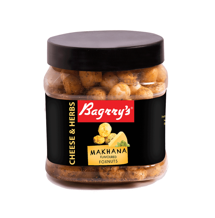 Bagrry's Makhana Flavoured Foxnuts Cheese and Herbs