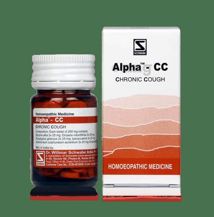 Dr Willmar Schwabe India Alpha - CC Tablet