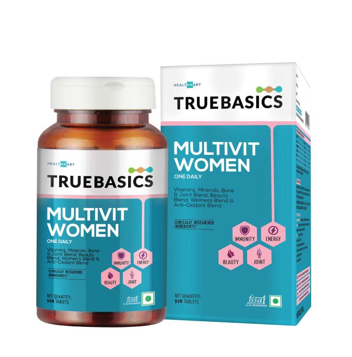 TrueBasics MultivitWomen Multivitamins & Multiminerals Tablet