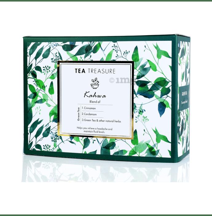 Tea Treasure Green Tea Bag Kahwa