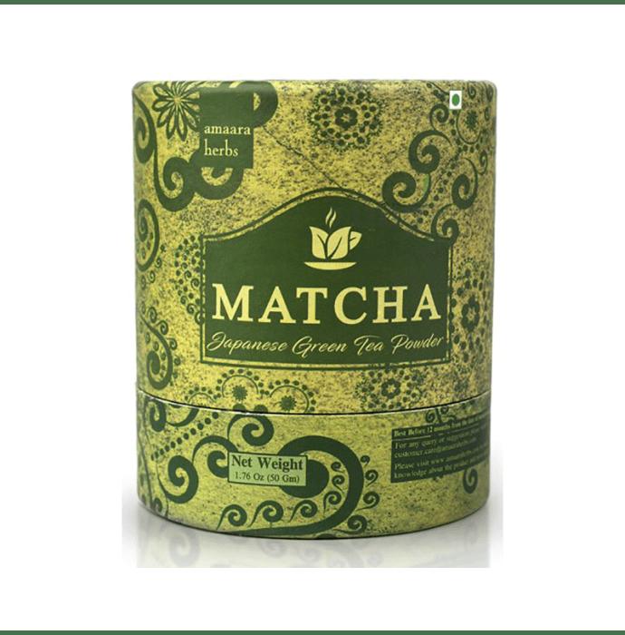 Amaara Herbs Matcha Japanese Green Tea Powder