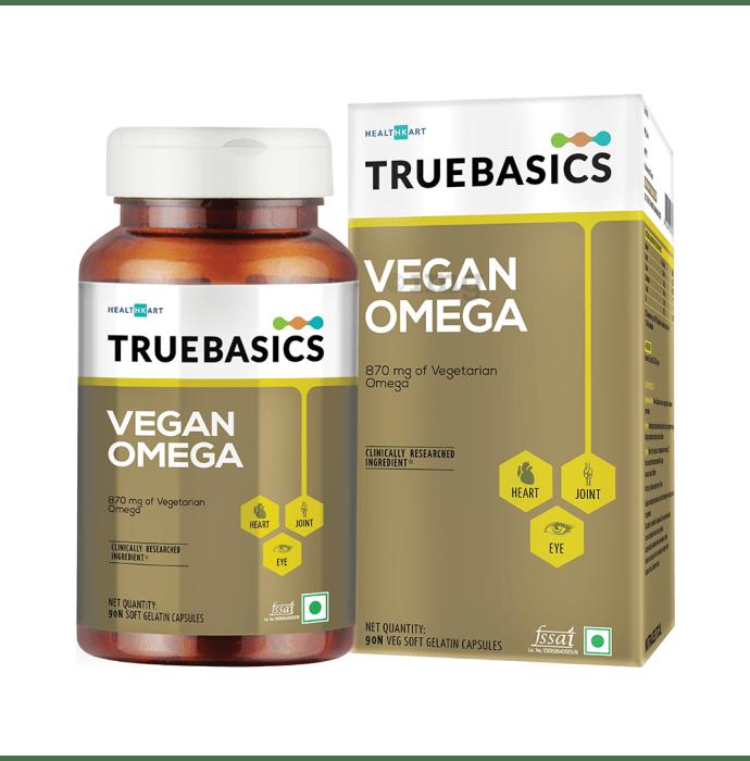 TrueBasics Vegan Omega Capsule
