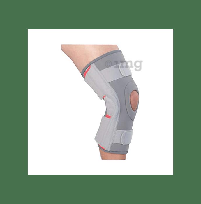 Medtrix Functional Open Patella Hinge Knee Support M Grey