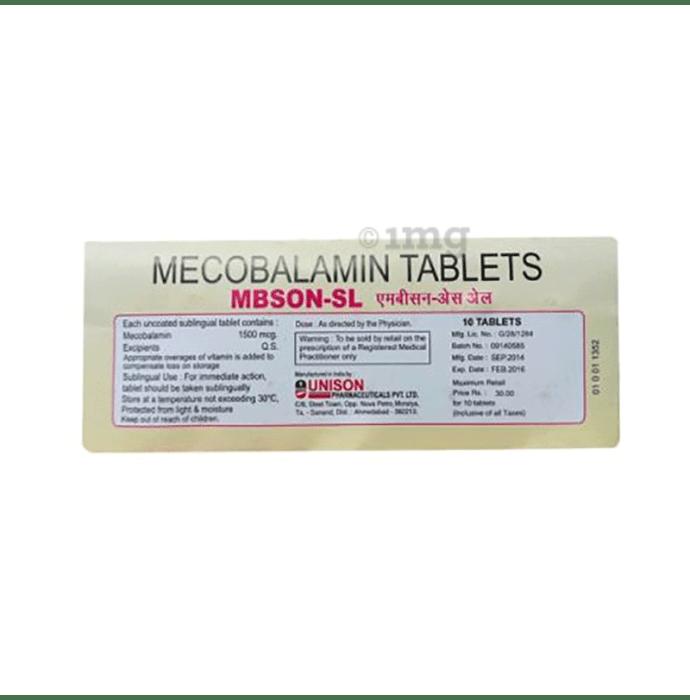 Mbson SL Tablet