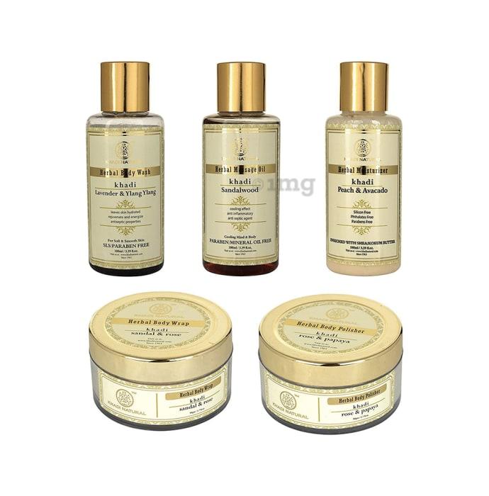 Khadi Naturals Ayurvedic Luxury Spa Kit