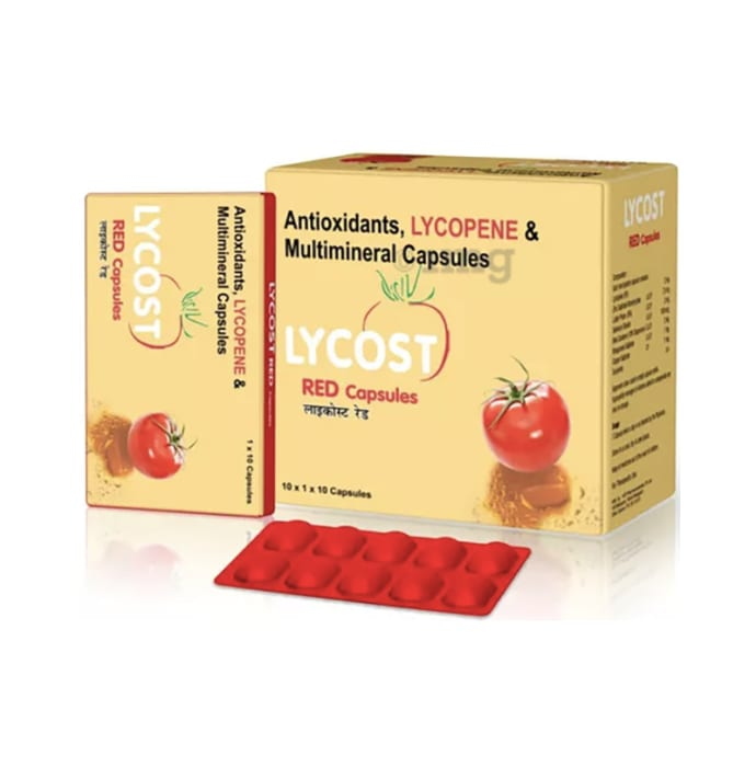 Lycost Red Capsule