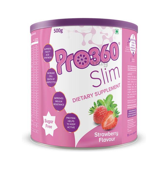 Pro360 Slim Strawberry Sugar Free