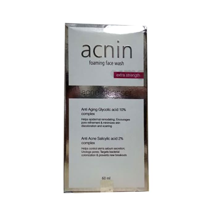 Acnin  Foaming Face Wash Extra Strength