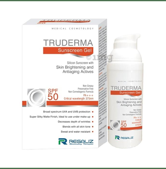 Regaliz Truderma Sunscreen Gel SPF 50