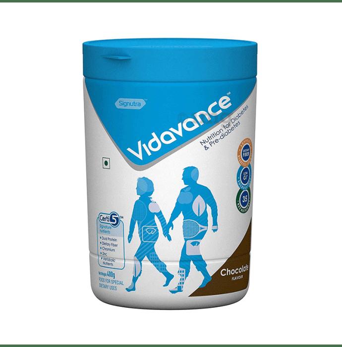 Vidavance Powder for Diabetes & Pre-Diabetes Chocolate