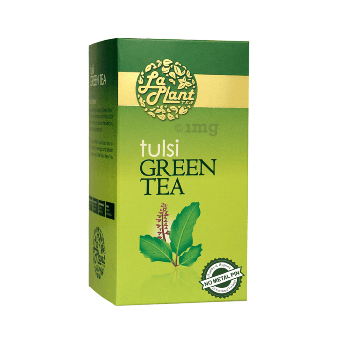 Laplant Green Tea Bag Tulsi