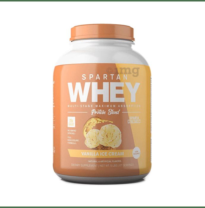 Sparta Nutrition Whey Protein Blend Vanilla Icecream
