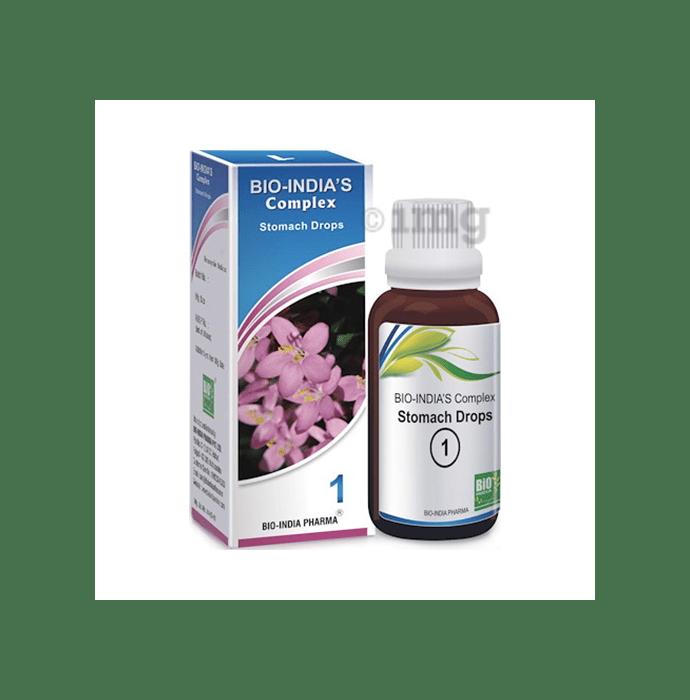 Bio India Complex 1 Stomach Drop