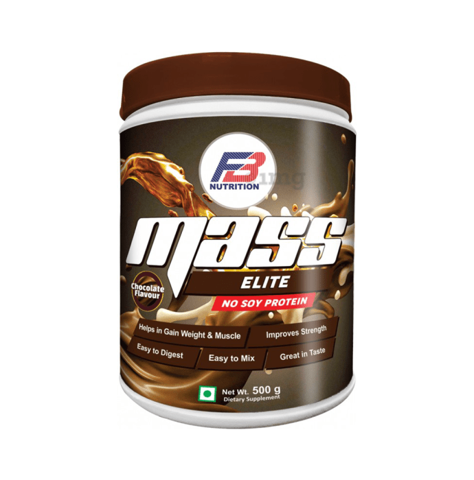 FB Nutrition Mass Elite Chocolate No Soy Protein