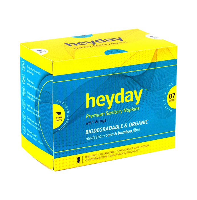 Heyday Premium Sanitary Napkins with Wings XL Ultra Thin
