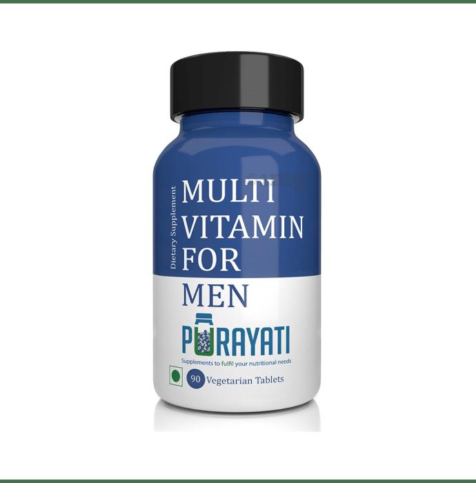 Purayati Multivitamin for Men Vegetarian Tablet