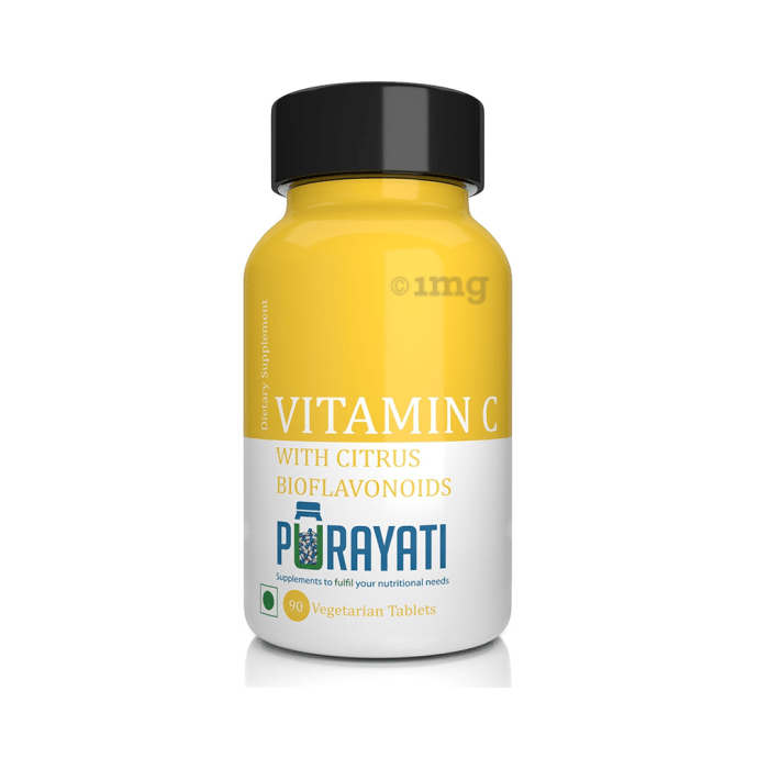 Purayati Vitamin C Vegetarian Tablet
