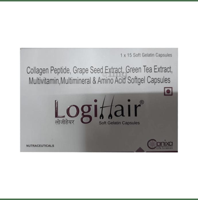 Logihair Soft Gelatin Capsule