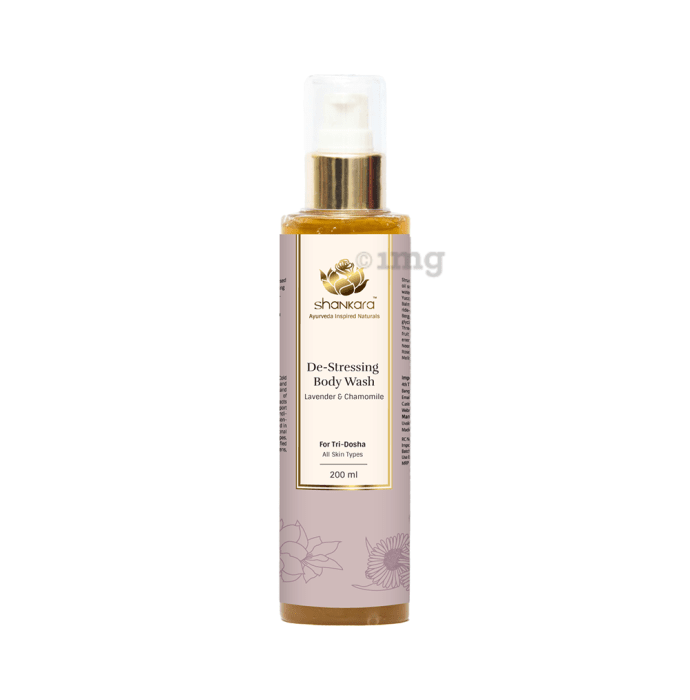 Shankara De-Stressing Body Wash Lavender and Chamomile