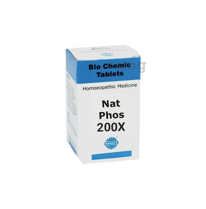 Bahola Nat Phos Biochemic Tablet 200X