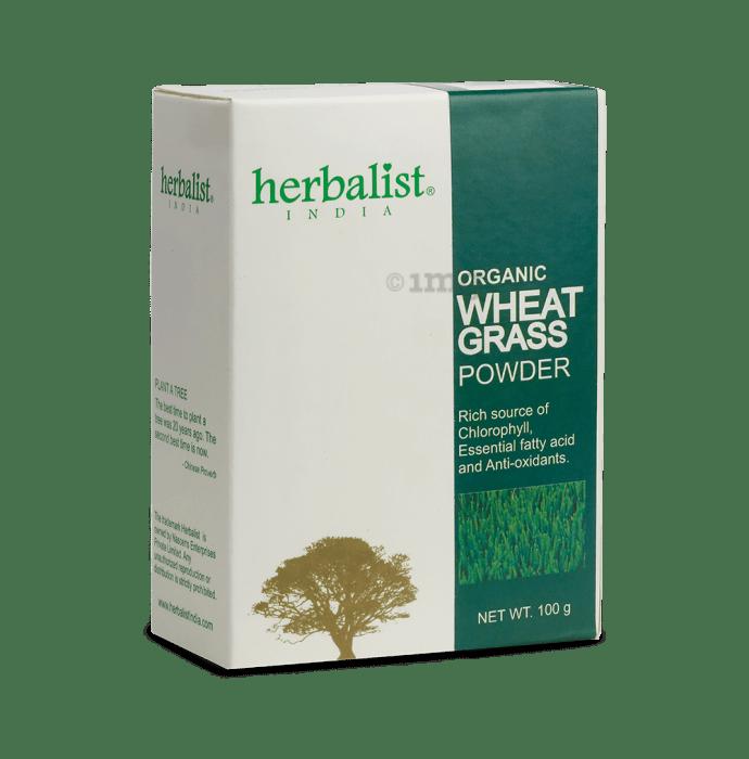 Herbalist Wheatgrass powder- 100% organic Powder
