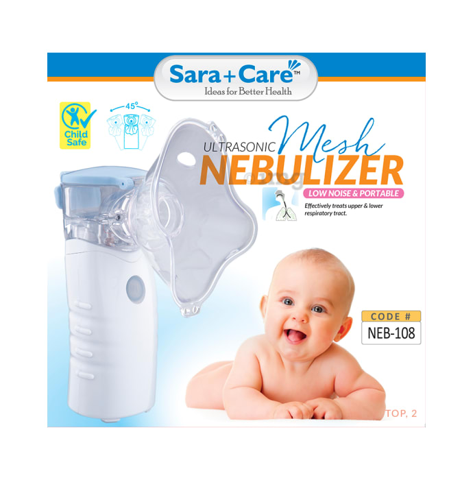 Sara Care NEB 108 Mesh Nebuliser