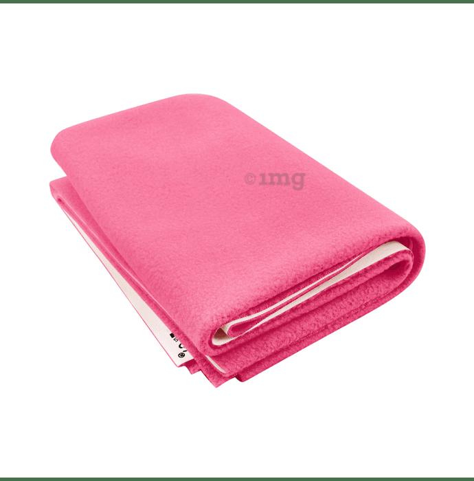 Polka Tots New Born Baby Mat Bed Protector Waterproof Sheet L Pink
