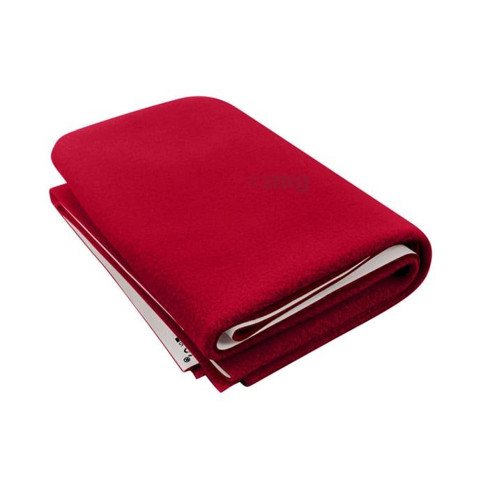 Polka Tots New Born Baby Mat Bed Protector Waterproof Sheet XL Dark Red