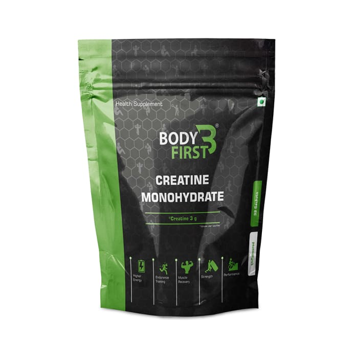 Body First Creatine Monohydrate (3gm Each) Unflavoured