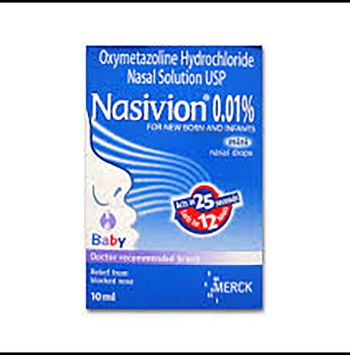 Nasovin 0.01% Nasal Solution