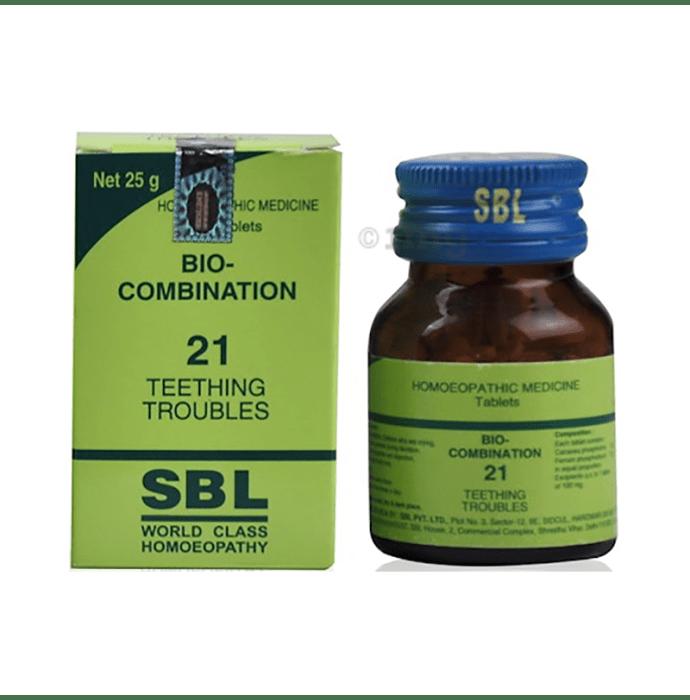 SBL Bio-Combination 21 Tablet