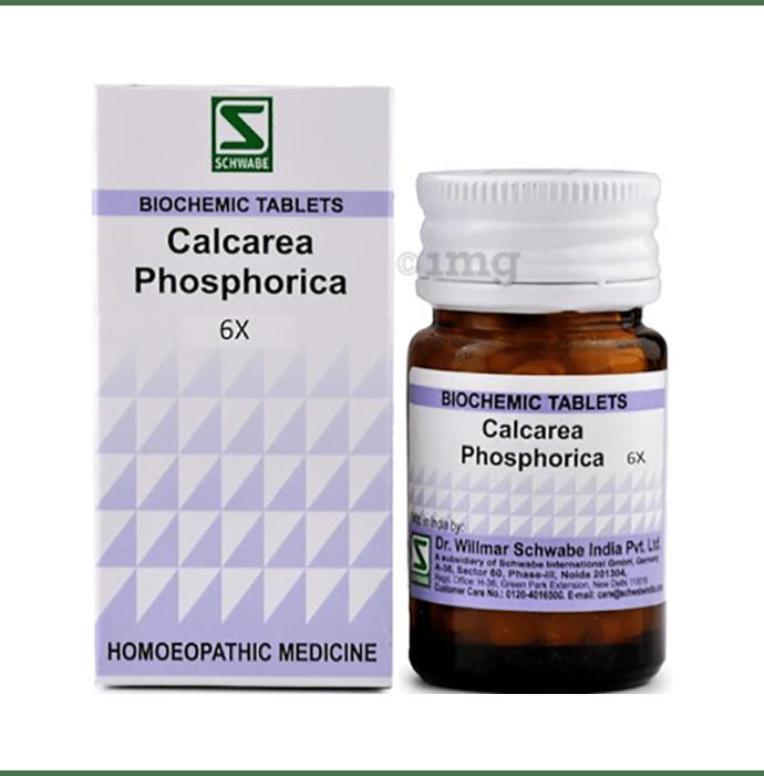 Dr Willmar Schwabe India Calcarea Phosphorica Biochemic Tablet 6X
