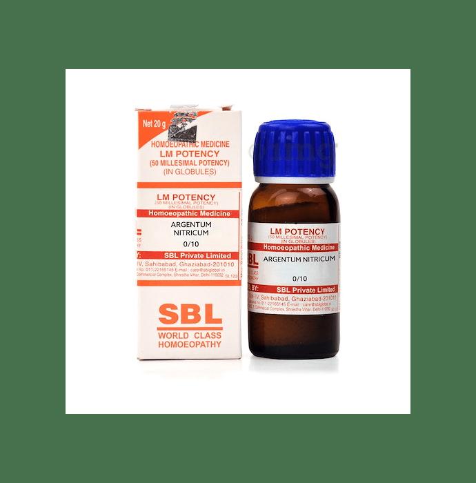 SBL Argentum Nitricum 0/10 LM