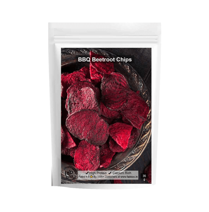 Fabbox Beetroot Chips BBQ