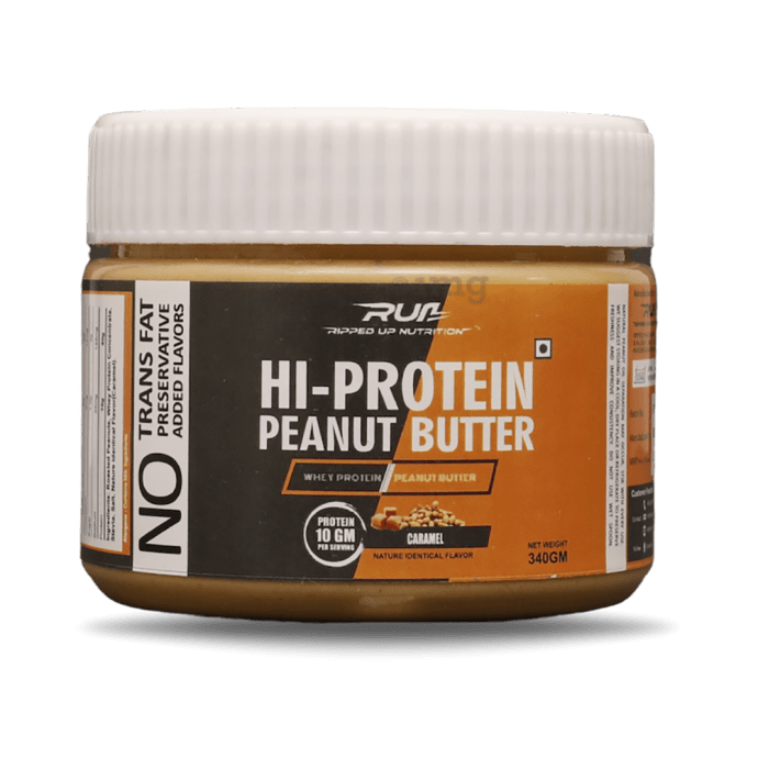 Ripped Up Nutrition Hi- Protein Peanut Butter Caramel