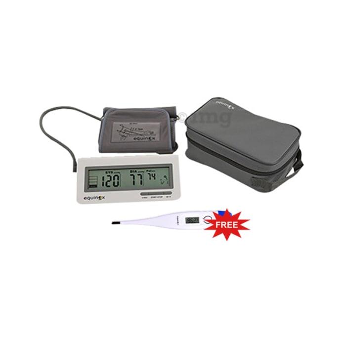 Equinox EQ-BP-101 Digital Blood Pressure Monitor with Free Digital Thermometer