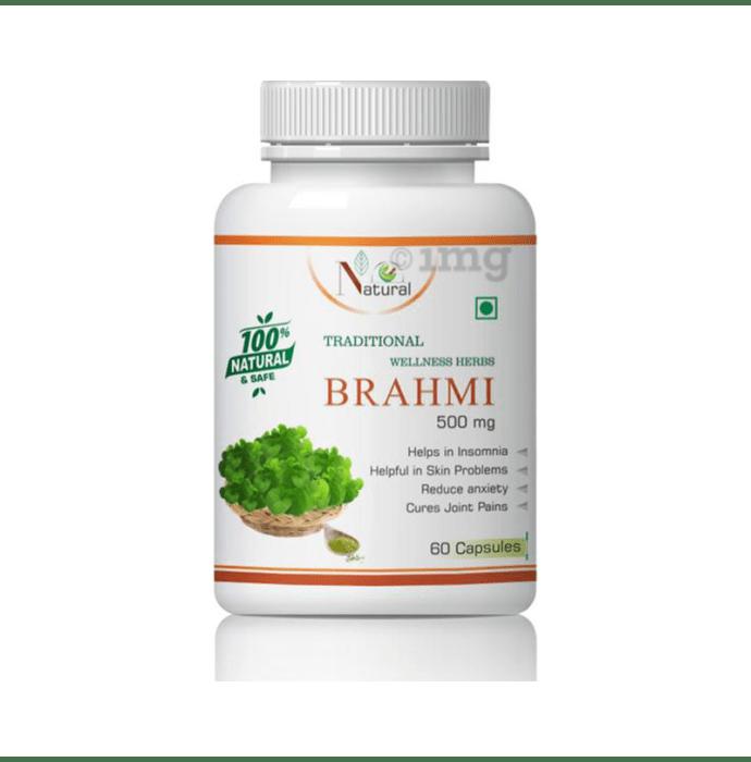 Natural Brahmi 500mg Capsule