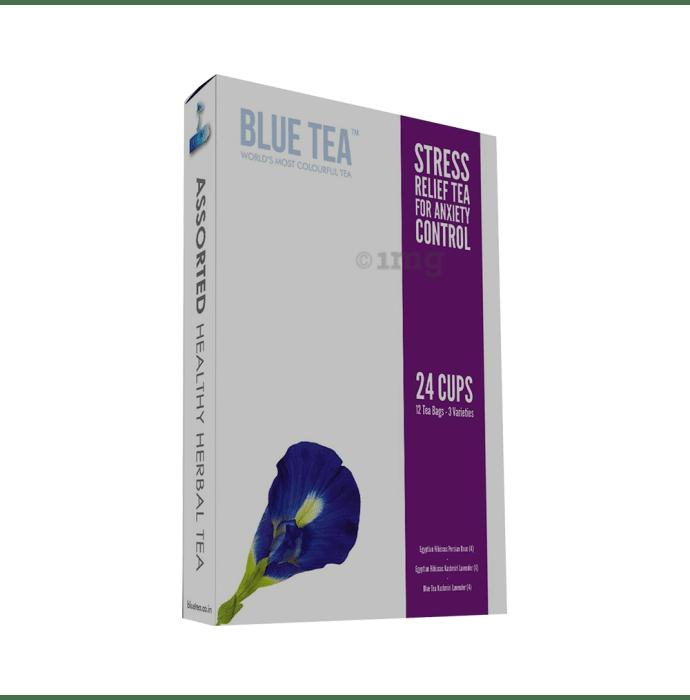 Blue Tea Stress Relief