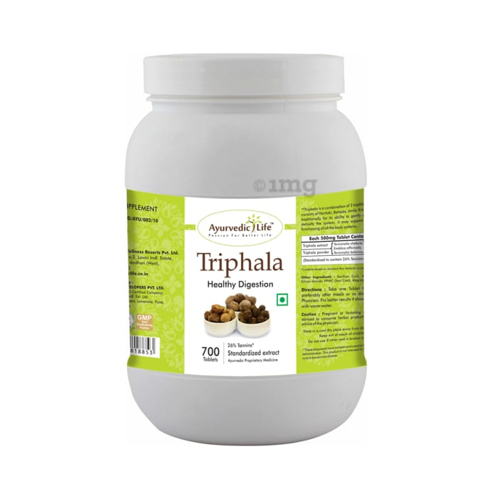 Ayurvedic Life Triphala Tablet
