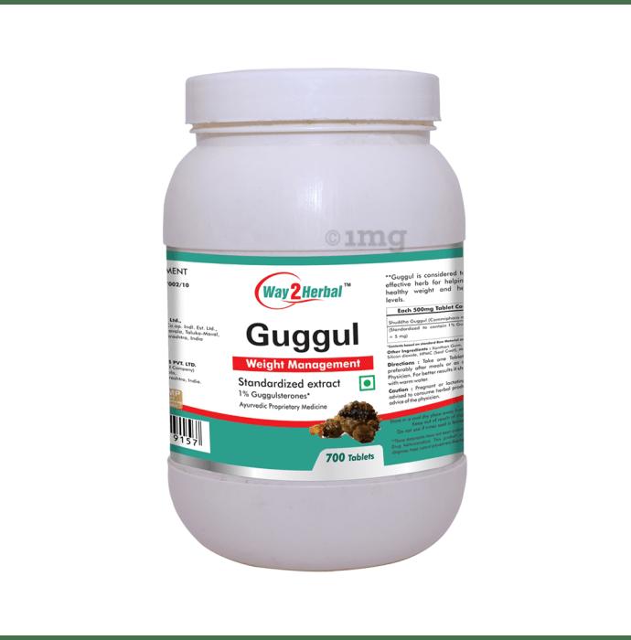 Way2Herbal Guggul Tablet